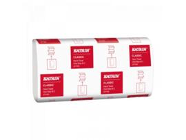KATRIN - INTERFOLDED - vouwhanddoek 2 laags cellulose - 4000 vellen