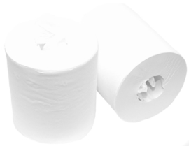 Swiss 120 minirol zonder koker 1 laag cellulose - 12 rollen