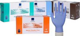 Disposable handschoenen Ultra-Sensitive nitril - Medisch CAT III - MAAT S - blauw