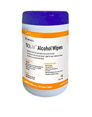 Sol Millenium 70% Alcohol medical wipes - 110 stuks
