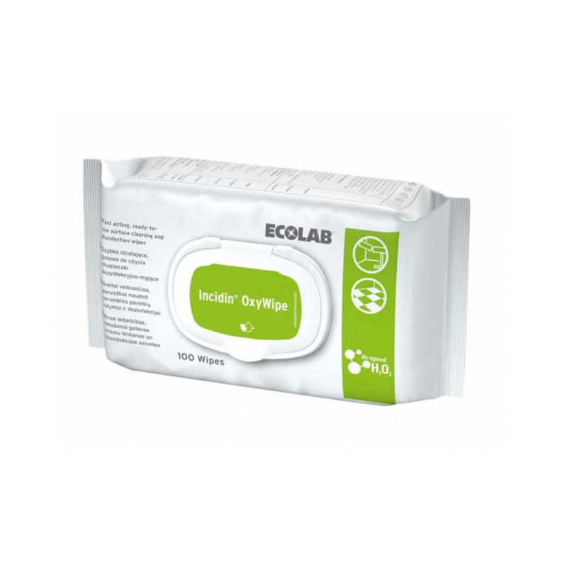 Ecolab| Incidin OxyWipe | 100 stuks