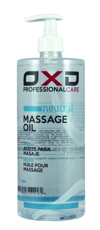 OXD Professional care neutrale olie voor massage 1 liter