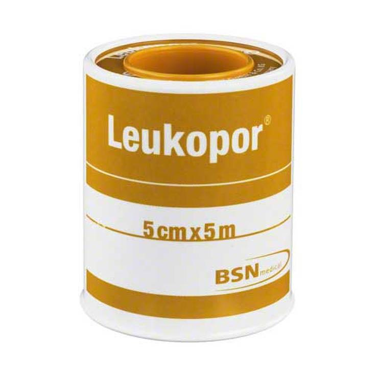 BSN Leukopor hechtpleister 5mx5cm
