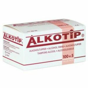 Alkotip alcoholdoekjes 65 x 30 mm - 105 stuks