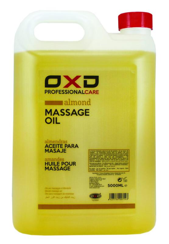 OXD Professional care amandelolie voor massage 5 liter