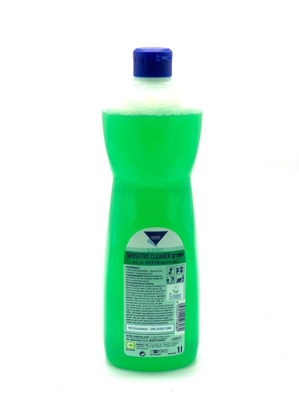Sensitive Cleaner groen eco - 6 x 1 liter
