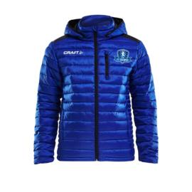 Craft gevoerde jas met capuchon  dames VV Buitenpost