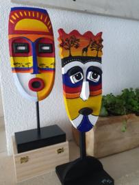 Workshop maskers schilderen
