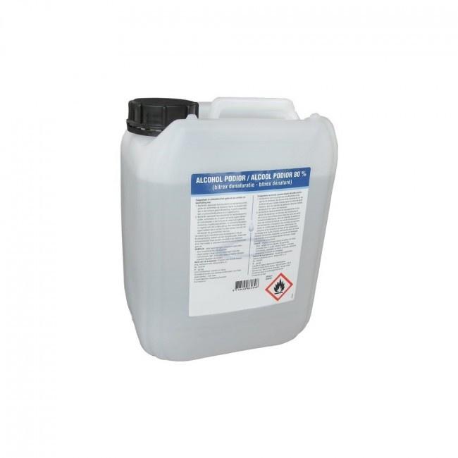 Navulling 5000 ml desinfecterende vloeistof - alcohol 80%