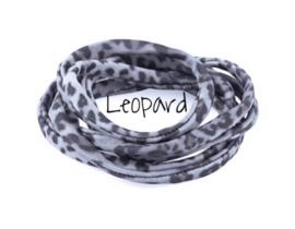 Leopard donker grijs