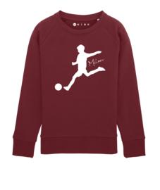 Voetbal sweater met naam