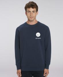 Heren Sweater Navy Waregem Tennis met naam