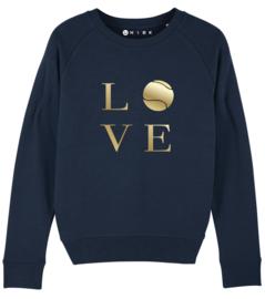 Love tennis padel sweater