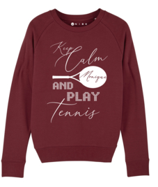Tennis sweaters