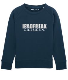 Ipadfreak sweater met naam