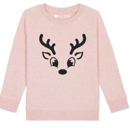 Rendier sweater meisje
