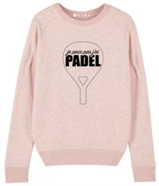 Padel sweater je peux pas