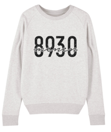Postcode sweater