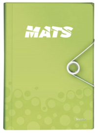 Dossiermap Leitz met naam Groen