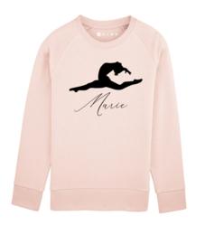 Ballet sweater met naam
