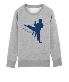 Karate sweater met naam