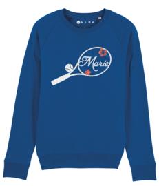 Tennis racket sweater met naam