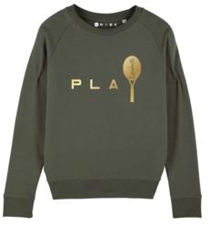 Play Tennis sweater met naam
