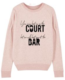 Licht roze padel sweater
