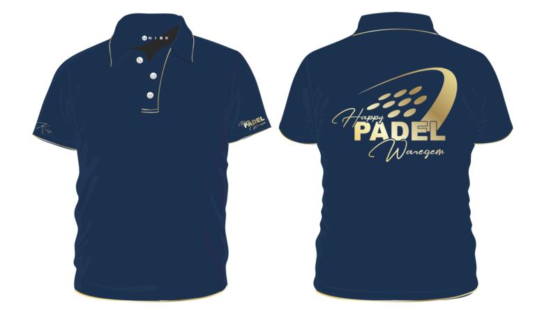 Happy Padel Waregem Polo of T-shirt
