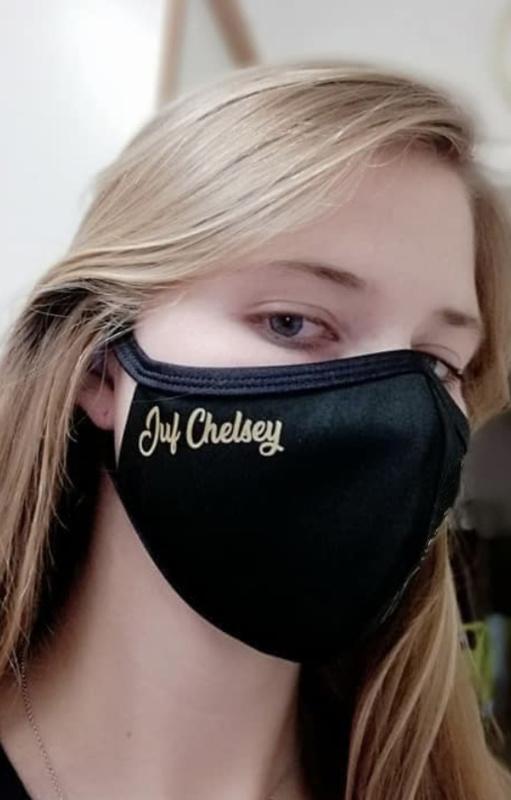 Soft mondmasker speciaal voor de juf