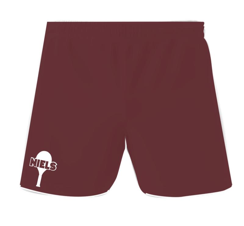 interclub short met zakken volledig volgens uw kleur en ontwerp