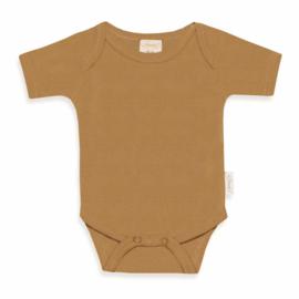 Newborn Rompertje - Sand - Gepersonaliseerd