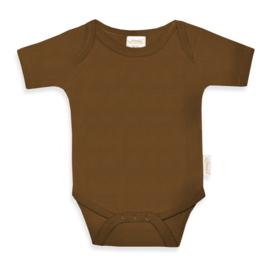 Newborn Rompertje - Brown Clay - Gepersonaliseerd