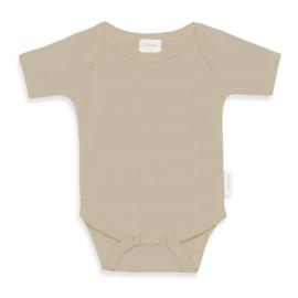 Newborn Rompertje - Cream - Gepersonaliseerd