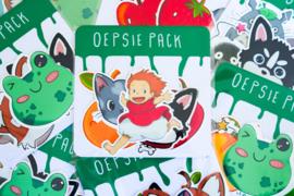 Oepsie pack