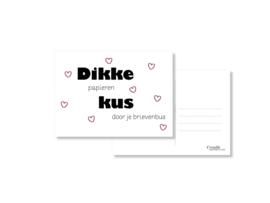 Dikke kus door je brievenbus