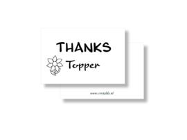 Thanks topper