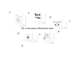 Bundeltje Kerstkaarten - 10 stuks
