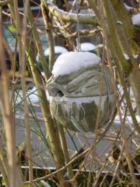 Nestkast - Winterkoning - Houtbeton