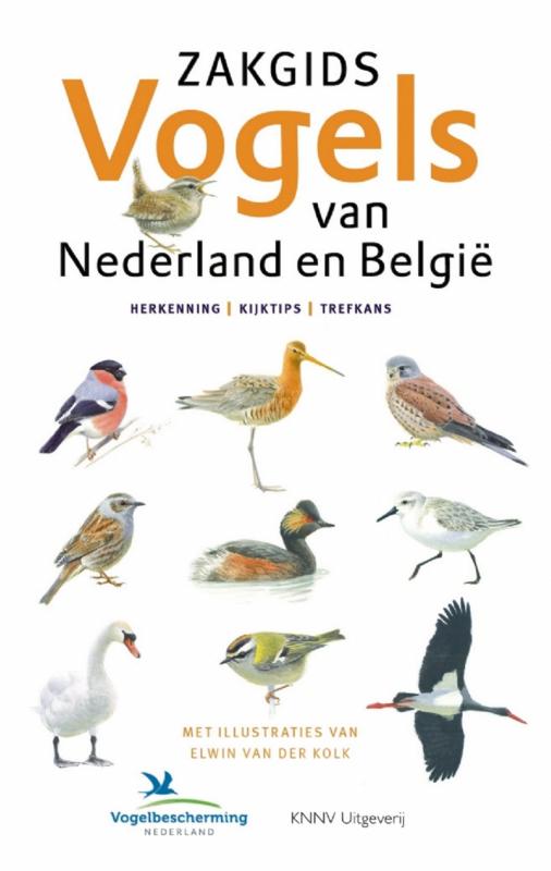 Boek - Zakgids Vogels van Nederland en België