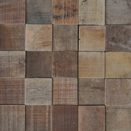 WoodWall Antique Square