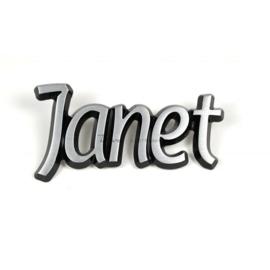 Lettertype Janet