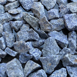 Blauw- grijs edelsplit