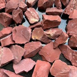 Rood- oranje edelsplit