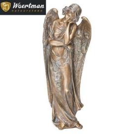 Bronzen engel