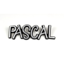 Lettertype Pascal