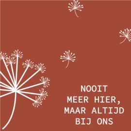 Herinneringskaart bloempluis 1