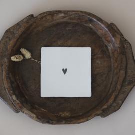 Liefdevolle tegel hart