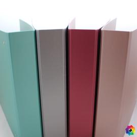 Scrapalbum in metallic kleuren