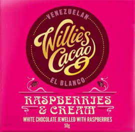 Willie's cacao Raspberries and Cream